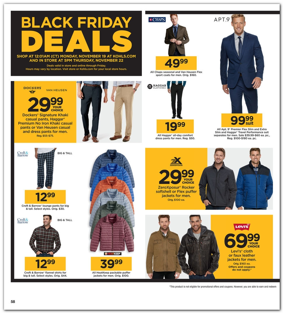 Kohls Black Friday page 58