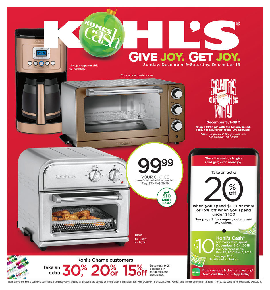 Kohls Green Monday page 1